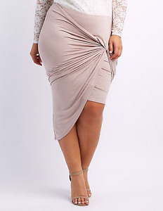 2 Charolette Russe asymmetrical skirts.