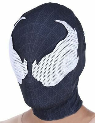 Venom Spider-man Mask Spiderman Cosplay Costume Hood Superhero Props Halloween - Spiderman Venom Halloween Costume