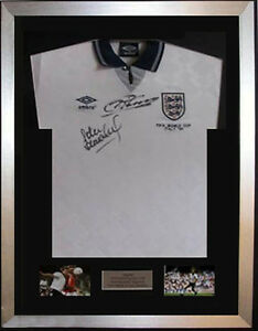 2100-SOLD-Frame-For-Any-Signed-Football-Shirt-and-2-photos-Landscape