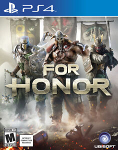 like new ps4 game for honor