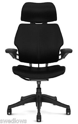 Humanscale Freedom Chair With Headrestleatheru Choose Color