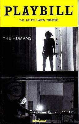 THE HUMANS PLAYBILL NEW YORK CITY NY BROADWAY JANUARY 2016