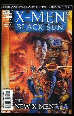 X-MEN BLACK SUN #1-5 NEAR MINT COMPLETE SET 2000
