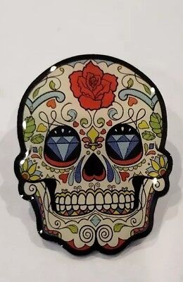Sugar City's Day of the Dead Dia de Muertos Halloween Enamel Lapel Pin #13 - 13 Dias De Halloween