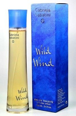 Gabriela Sabatini Wild Wind Women Eau de Toilette 100 ml. / 3.4 Fl.oz Spray NEW for sale  Miami Beach