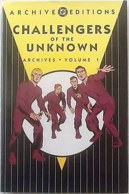 Archive Editions Challengers Of The Unknown Vol  1 Hardcover
