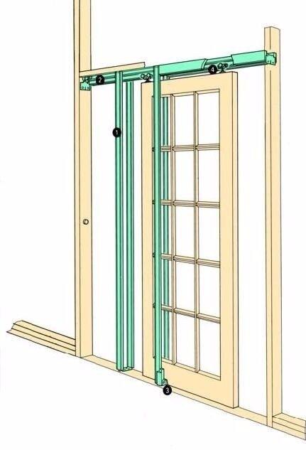 Brand new Coburn Hideaway Pocket Sliding Door Set - H30