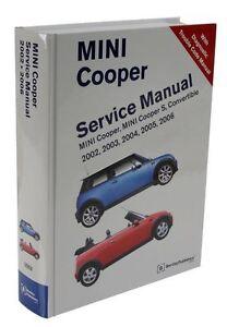 mini cooper repair manual ebay