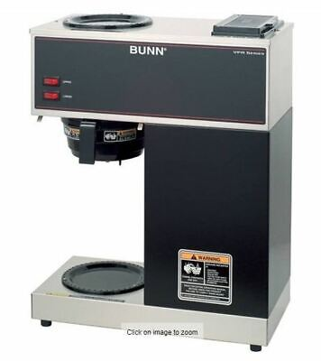 Bunn Vpr 12 Cup Commercial Coffee Brewer Black 33200.1000