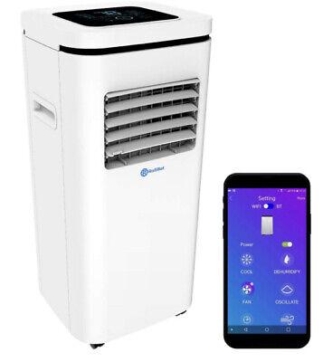Rollicool 10000BTU Portable Air Conditioner Dehumidifier Fan App 3-in-1 AC Unit