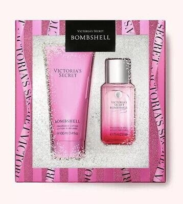 Victoria Secret BOMBSHELL Mini Fragrance Body Mist & Lotion Gift Set -NEW IN BOX