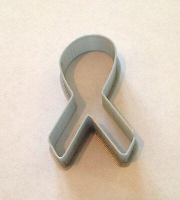 Cancer Awareness Ribbon cookie and fondant cutter - US SELLER!! Awareness Ribbon Cookie Cutter