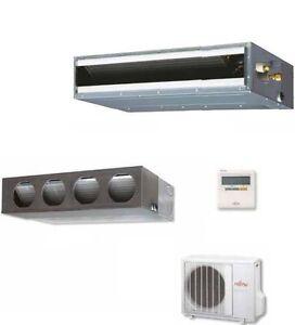 Climatizzatore fujitsu mono canalizzabile inverter 24000 for Climatizzatore canalizzato