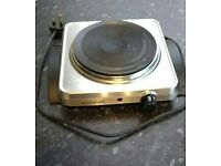 Single electric hob - free to take away