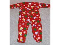 winter fleece sleepsuit size 80cm