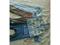 Bundle of clothes for babyboy 3-6 months
