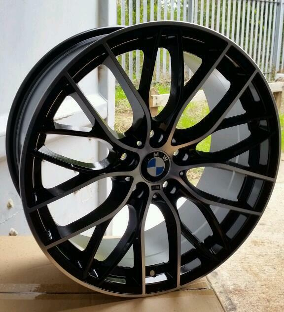 "LATEST 19"" BMW M PERFORMANCE EDITION ALLOY WHEELS X4 BOXED"