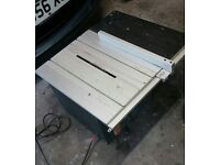 SEALEY 254mm Table Saw - woodworking with blade and extension table
