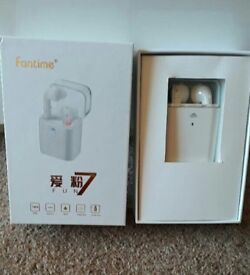 Fantime wireless and Bluetooth earphones