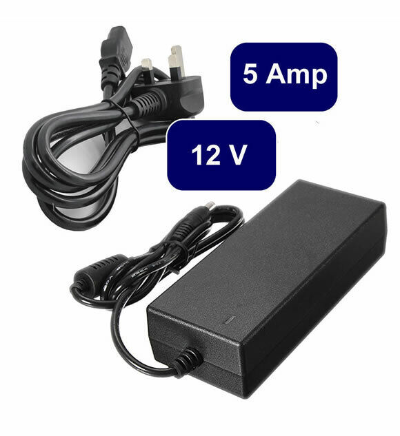 LED STRIP 12V AC TO DC 0.8 Amp POWER SUPPLY 12VOLT PSU High Quality FOR CCTV