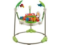Firsher price rainforest jumperoo