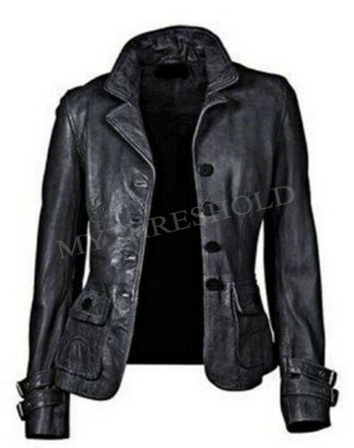London Fog Genuine Leather Coat Women S Size Large For Sale Online Ebay