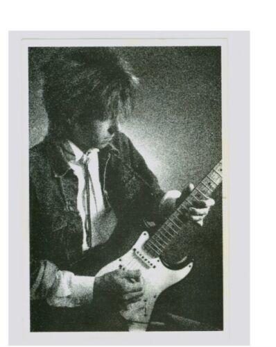 Eric Johnson Mega Rare Unused 1986 Promo Postcard with Tones Logo