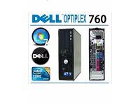 Dell 760 Intel Core2Duo E7400 2.80GHz DVD Buy in Bulk