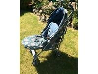 Maclaren Quest-Cath Kidston pushchair stroller-Spray shower