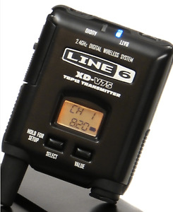 I want: Line 6 XD-V75 wireless [model TBP12] TRANSMITTER ONLY.
