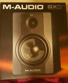 M Audio BX5 BNIB