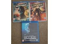 The Riddick blu ray collection