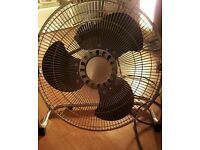 Large floor fan