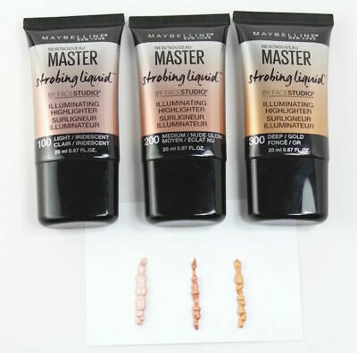 Maybelline Master Strobing Liquid Illumining Highlighter You Pick 100 200 300