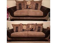 Scs 2&3 seater scatter back sofa
