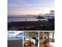 Homeswap - 2 bed house in stunning Marazion Cornwall need 1 or 2 bed London