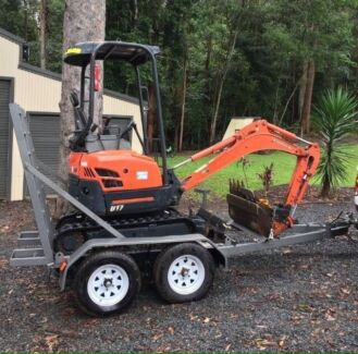 Excavator Dry Hire from $175 ph:
