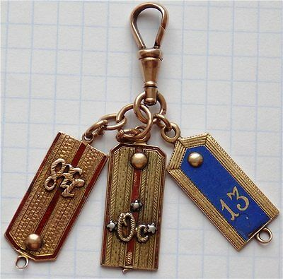 ZAREN RUSSLAND SCHULTERKLAPPEN GOLD zar Nikolaus Anhänger