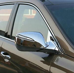 Hyundai Santa Fe Dm 13 Chrome Door Side Mirror Covers Rear