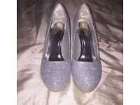 Prom/wedding shoes and bag