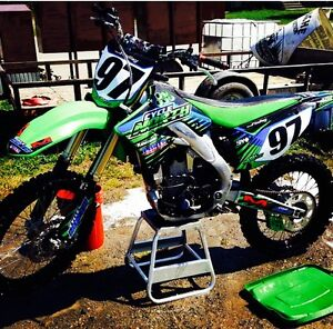 2012 kx250f trade for sled deck