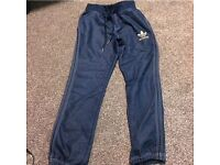 Adidas original denim joggers