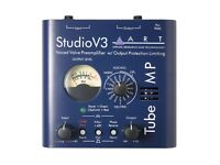 ART Studio V3 Valve (12AX7) Microphone pre-amp. Requires a 9VAC PSU