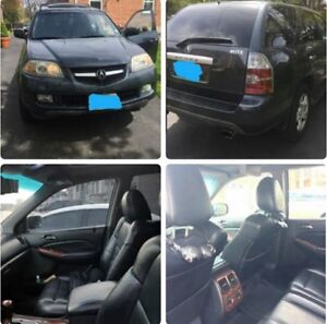 2005 Acura MDX Touring with remote starter/dvd