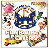 Disney themed Bouncy castle party room play centre