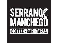 Cafe Tapas Bar Supervisor
