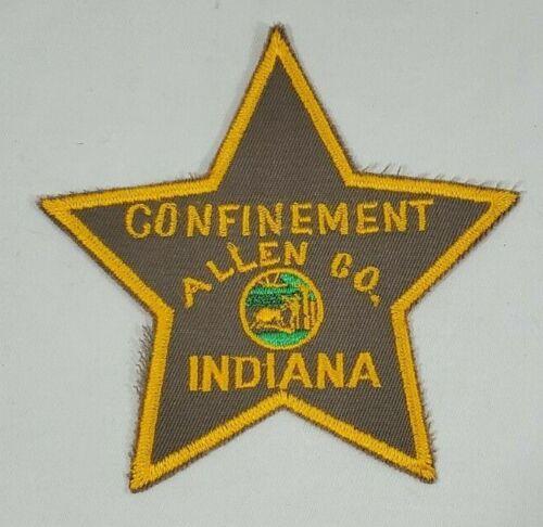 FORT WAYNE INDIANA ALLEN COUNTY CONFINEMENT JAIL GUARD DOJ POLICE SHOULDER PATCH