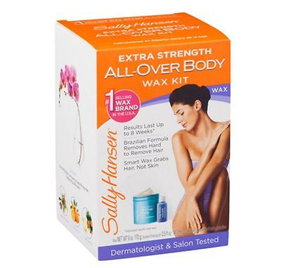 Sally Hansen Extra Strength All-Over Body Wax Hair Removal Kit 1 ea ()