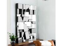 Dwell Blocks Mirror Design Deco Living Room 120cmx80cm