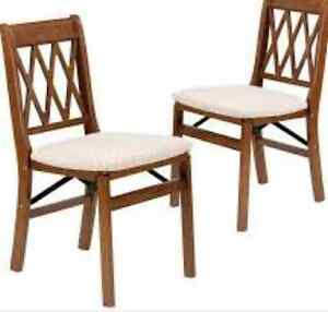 Wanted 4 Matching Wooden Chairs